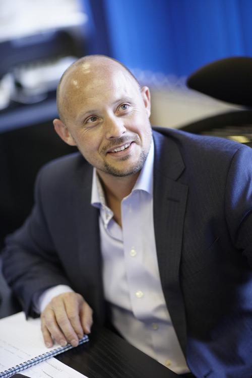 Neil Ginger, CEO at Origin