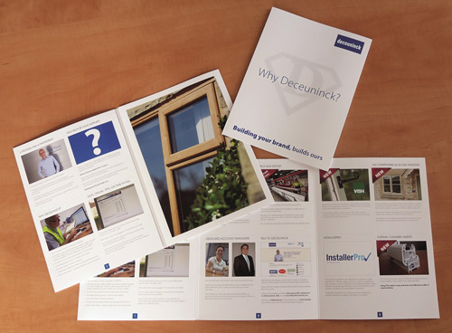 Deceuninck's new 'Why Deceuninck?' brochure