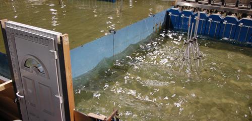 The Ark Flood Defence door