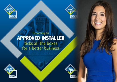 Amy Grundy, national sales manager for the Approved Installer Scheme