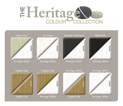 Deceuninck's new Heritage Colour Collection