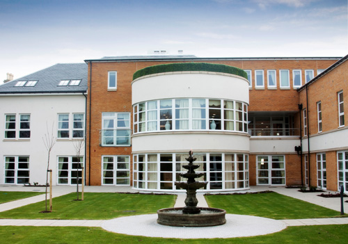 Walker Profiles fabricated and installed REHAU TOTAL70R windows in Templeton Care Home in Ayr