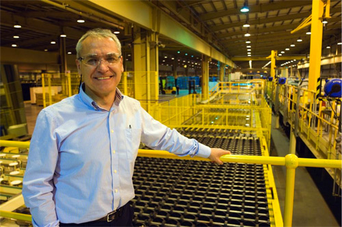 """Pablo Isasmendi, plant manager, Guardian Glass UK: """"Manufacturing SunGuard glass in the UK allows a much greater level of flexibility for Guardian and its customers."""""""