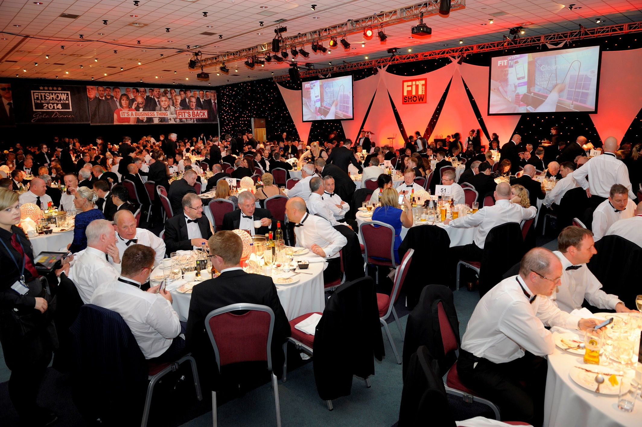The FIT Show gala dinner 2016 is sold out