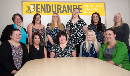 The customer service team at Endurance Doors