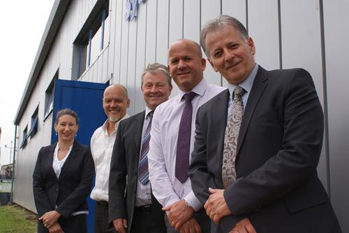 The CDW management team