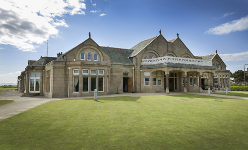 The Royal Troon Golf Club, on the Ayrshire coast