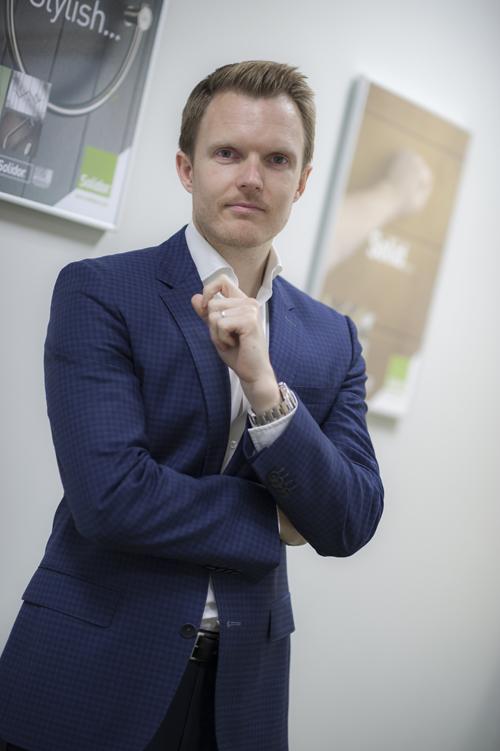 Solidor CEO Gareth Mobley