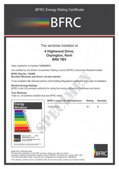 2385 Building Reg Cert Window A+ CMYK