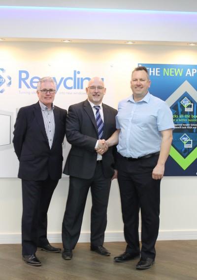 Dave Goggin, John Hunt and Paul Bailey