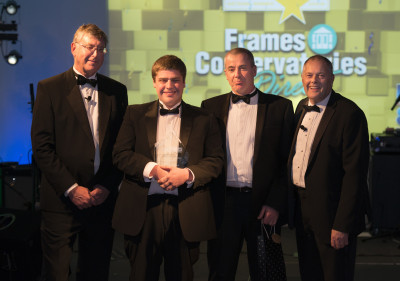 Frame Conservatories Direct was the overall National Winner for the second year in a row