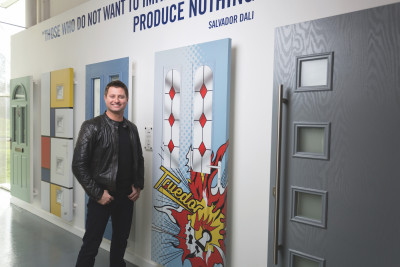 Celebrity architect, George Clarke, will officially open this year's live Master Fitter Challenge finals at The FIT Show