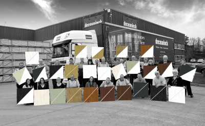 Deceuninck's 26 colourways from stock make selling colour easy