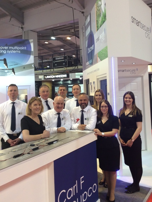 Carl F Groupco Team at the FIT Show 2016