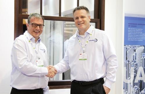 David Walker, MD (left) and Eric Mertz