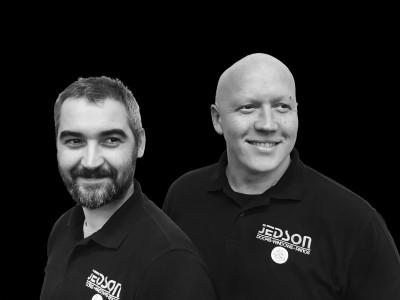 James Upson, operations director (left) and James Davies, managing director
