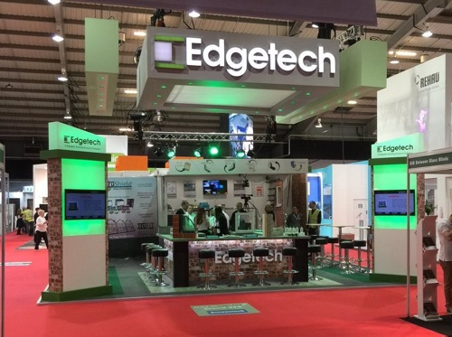 The Edgetech Stand at the FIT Show