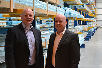 From left: Paul Benn, national sales manager and Derek Hodgson, general manager