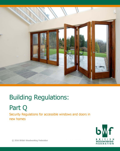 Front cover of BWF's Part Q guide