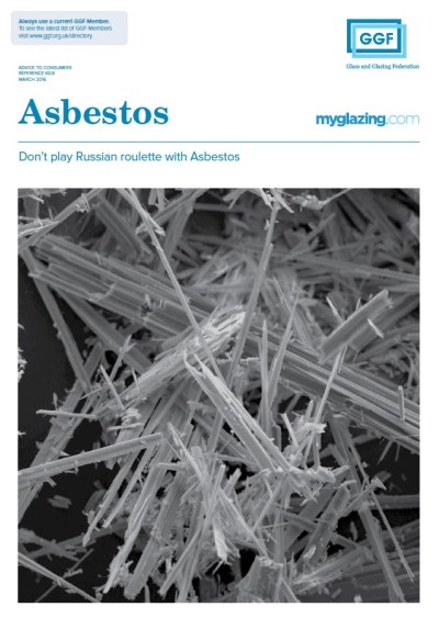 GGF Asbestos Leaflet Cover Image