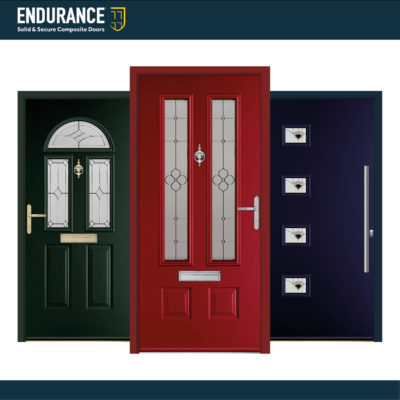 Endurance Doors Add Red, Green and Blue Door Frame Colours