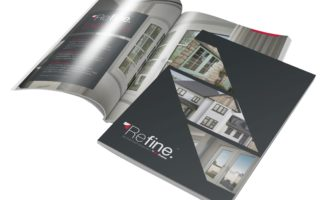 Refine Brochure Sets the Flush Standard