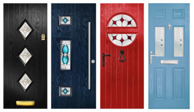 Just some of the new door designs available from Entrance