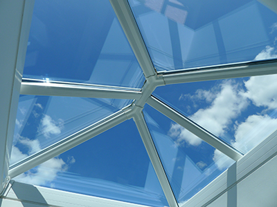 Novaseal's new Slim 60 lantern roof has contributed to record sales this summer