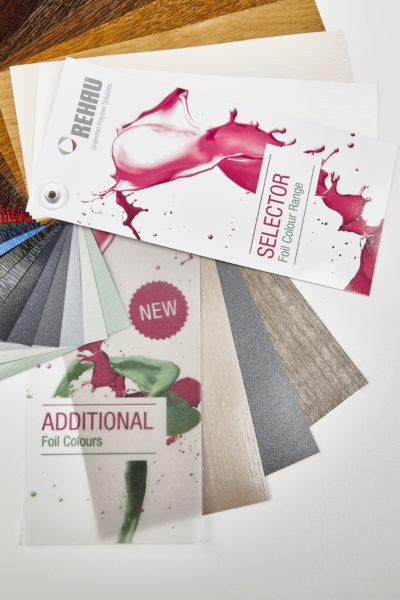 PR2100 REHAU has added Windsor, Silver Birch and Smooth Basalt Grey to its range of foiled colours