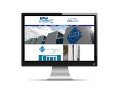 Patios South West website
