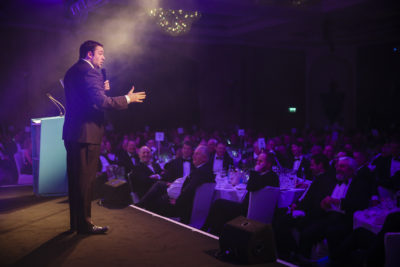 Last year's event was hosted by TV's Jason Manford