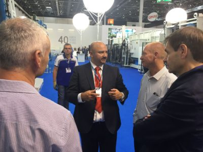 Promac's Joe Hague reported a high level of optimism among glass processors