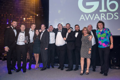 Roseview won Customer Care Initiative of the Year at the G-Awards