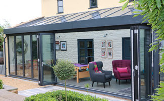 One installation in Wells, Somerset, by Mendip Conservatories captures just how versatile the Atlas Skyroom can be