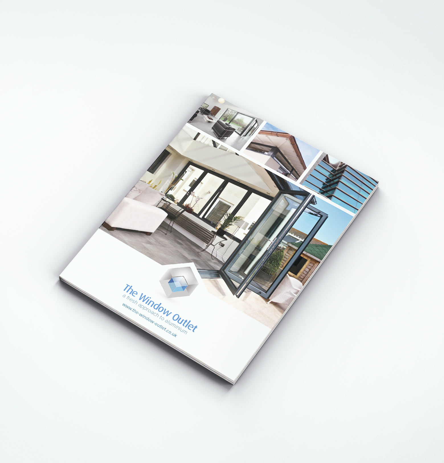 The window outlet launches new trade brochure glass for New windows products