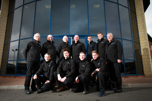 Some of the expert team at Avantek Machinery