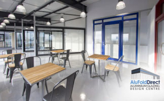 AluFoldDirect Aluminium Glazing Design Centre for press