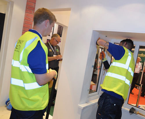 Epwin Window Systems is marking the launch of its Excellence as Stand-ard installer scheme at The FIT Show by sponsoring this year's Master Fitter Challenge