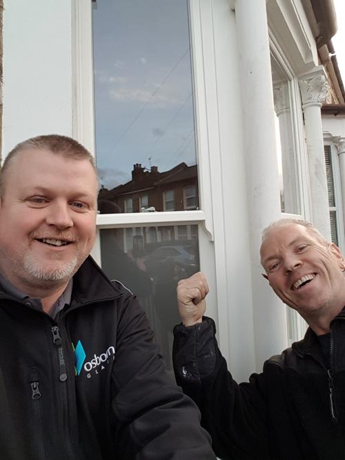 Danny and Jason from Osborn Glass – February #SashSelfies winners