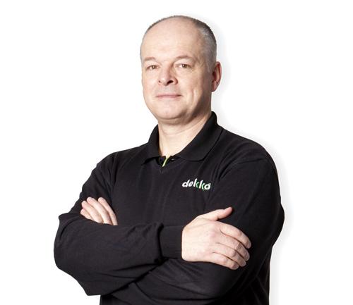 Kurt Greatrex, Dekko sales director