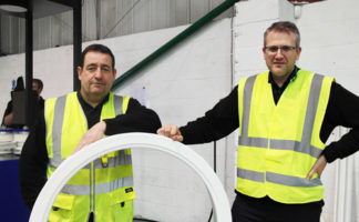 Michael Connor, managing director (left) and Alex Cotos, quality manager