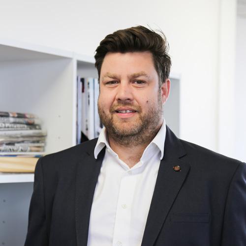 Leon Friend, director at Hueck UK