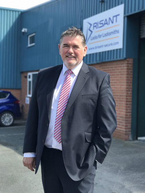 Mike Hill, Brisant's new sales director