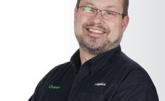 Gary Shoesmith, Edgetech technical development manager