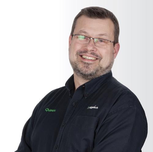 Gary Shoesmith, Edgetech technical development manager
