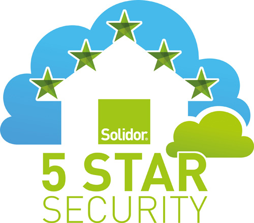 : Solidor's new £5,000 5 Star Security guarantee is said to be 'unrivalled'