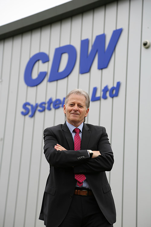 Mike Davis, managing director of CDW Systems