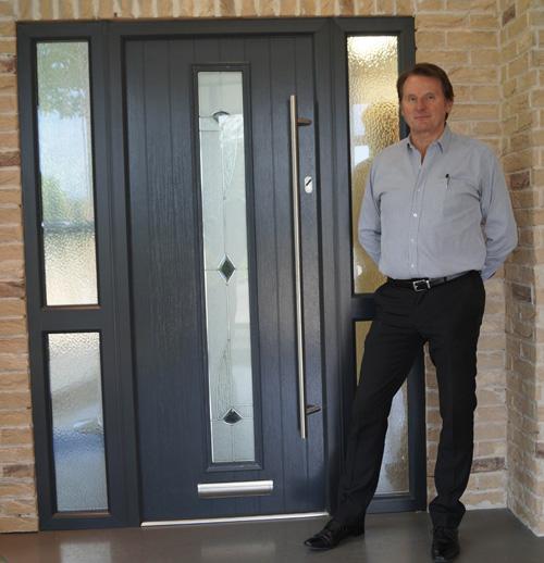 Haydon Statham with the Meridian Door  sc 1 st  GGP Magazine & Phoenix Doors pulls out of PVC door panel manufacturing   Glass ...