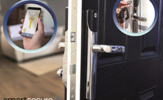 The Conexis L1 keyless locking system is added to Carl F Groupco's SmartSecure solutions