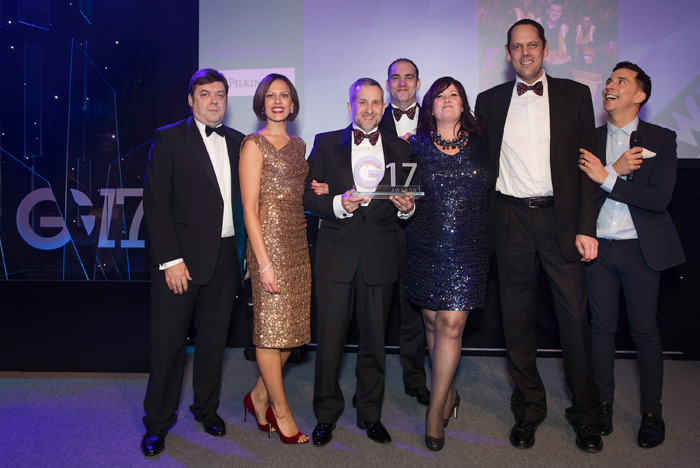 Component Supplier of the Year G17